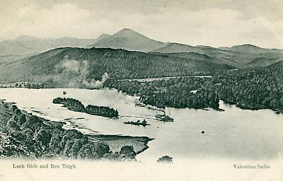 INVERNESS-SHIRE Loch Oich and Ben Teigh