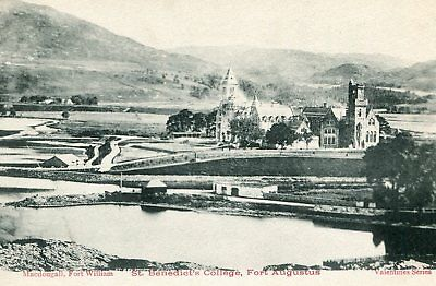 INVERNESS-SHIRE St Benedicy's Collage FORT AUGUSTUS