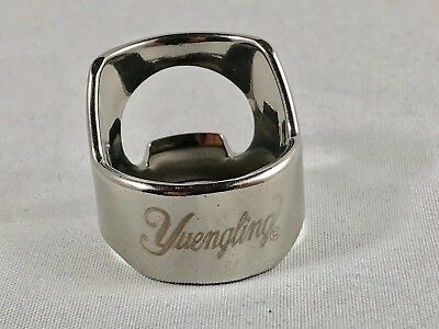 Yuengling Beer Bottle Opener Ring Stainless Steel Engraved Bar Tool