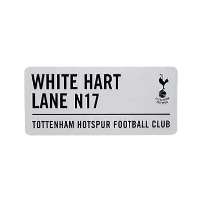 TOTTENHAM HOTSPUR FOOTBALL - STREET SIGN (Metal Door Sign) Official SPURS