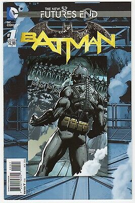 Batman Future's End 2D Variant - DC New 52 Nov 2014 - 1st Print VF/NM