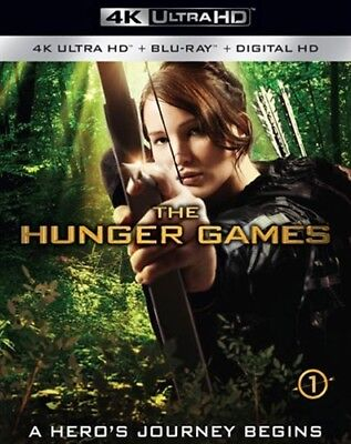 THE HUNGER GAMES New Sealed UHD Ultra HD + Blu-ray