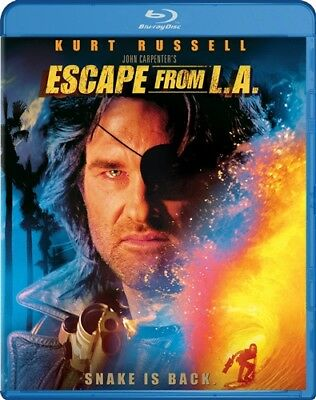 ESCAPE FROM LA New Sealed Blu-ray Kurt Russell Sequel to Escape from New York