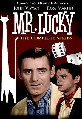MR LUCKY THE COMPLETE SERIES New Sealed 4 DVD Set Blake Edwards