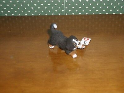 Schleich-Mini Bernese Mountain Dog Pup-Figurine.-New