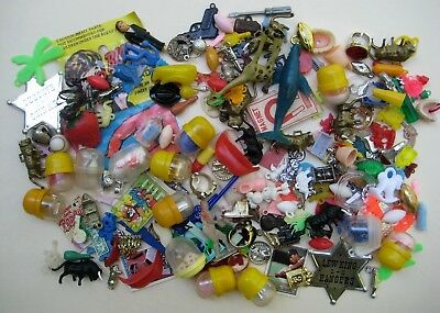 Vintage Cracker Jack~Gumball Charms & Small Toys Prize Lot Of 200+ #4