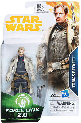 Star Wars Universe 3.75 Inch Figure Force Link 2.0 Wave 4 - Tobias Beckett