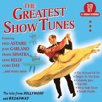The Greatest Show Tunes CD Box Set New 2018