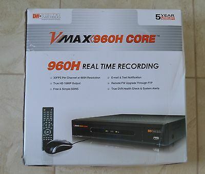 DIGITAL WATCHDOG DW-VMAX 4 Digital Video Recorder - $64 95