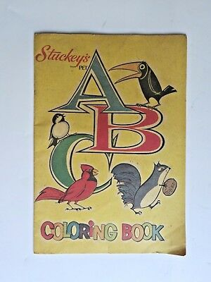 Vintage Stuckey's Stores/ Pet Inc ABC Coloring Book