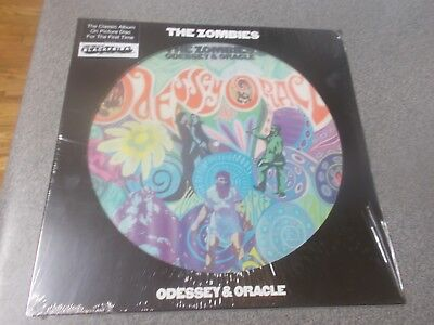 The Zombies Odessey & Oracle picture disc Black Friday 2018 RSD  Sealed!