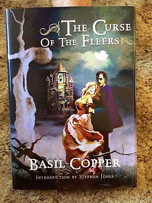 THE CURSE OF THE FLEERS Basil Copper 1st ed 100 COPY SIGNED/LIMITED HC EXPANDED
