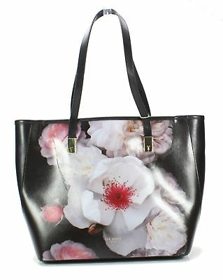ebf50723e Ted Baker London NEW Black Gold Celsea Small Floral Shopper Tote  249-  052