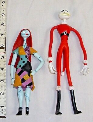 Nightmare Before Christmas Walt Disney Tim Burton Jack Skellington  & Sally