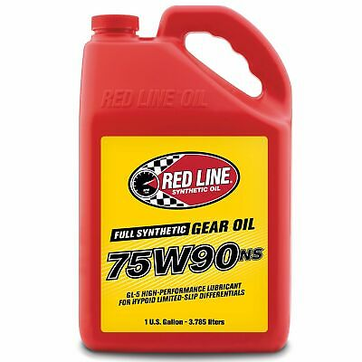 Red Line Competition Synthetic Gear / Differential Oil - 75W90NS - 1 US Gallon