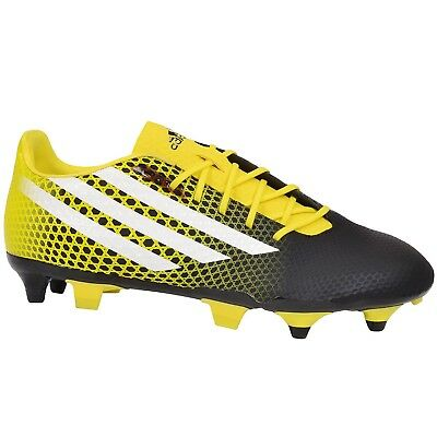 adidas Performance Mens CrazyQuick Malice Soft Ground SG Rugby Boots - Black