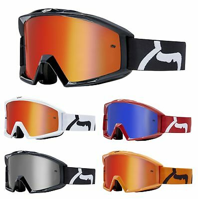 Fox Main MX Brille verspiegelt MX Enduro Motocross Offroad Crossbrille