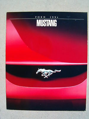 1994 Ford Mustang Dealer Sales Brochure