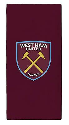 West Ham Team Club Team Impact Fc Towels Beach Bath Gym Swim Licensed Official
