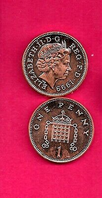 Great Britain Gb Uk Km986 1999   Unc-Uncirculated Pence Demical Coin
