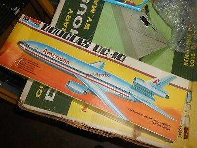 Monogram Douglas DC-10 American Airlines Model Kit Unstarted in Box 1/144