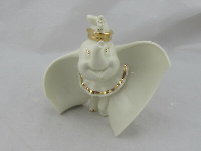 Lenox Disney Showcase Collection Dumbo Figurine Ivory and Gold Large 7""