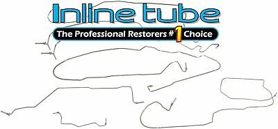 03-07 Chevrolet Silverado 2500 or 3500 Brake line kit Crew Cab Long Bed NICOP