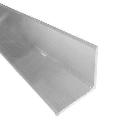 "2"" x 2"" Aluminum Angle 6061, 36"" Length, T6511 Mill Stock, 1/8"" Thick"