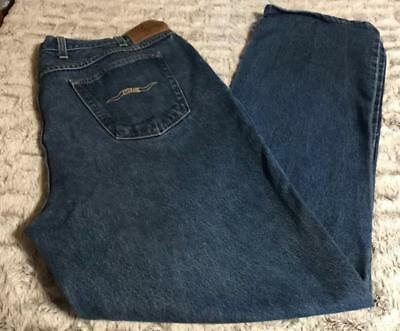 Saddle King Mens Size 42 X 30 Jeans Vintage 70s Made In Usa Pre