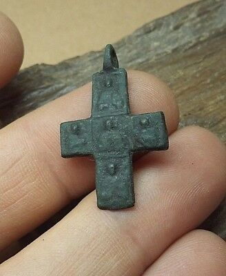 RARE !Excellent Viking Age Pendant Cross . c 10-12 AD. Kievan Rus. Viking. #2668