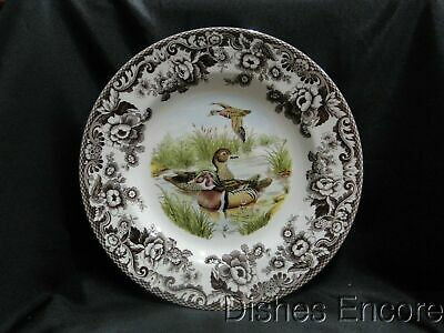 "Spode Woodland Wood Duck, England: Dinner Plate (s), 10 3/4"", NEW w/ Orig Box"