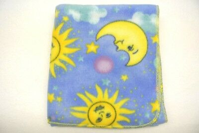 Baby Blanket Moon Stars Sun Celestial Can Be Personalized 28x40