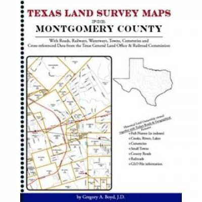 Texas Land Survey Maps for Montgomery County