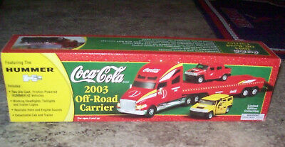 Coca Cola 2003 Off-Road Carrier featuring The Hummer