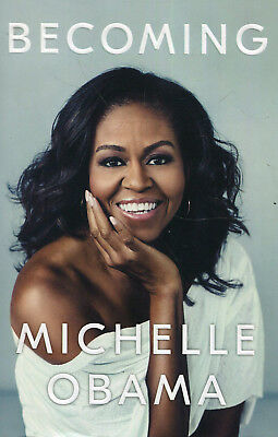 Becoming by Michelle Obama - Official Autobiography Biography Memoir - Hardback