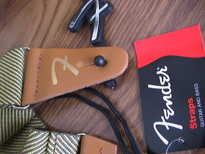 Fender Vintage Tweed Guitar Strap 099-0687-000 New!!