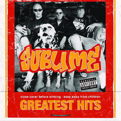 Sublime GREATEST HITS (BEST) Black Friday RSD 2018 +Flexi NEW COLORED VINYL LP