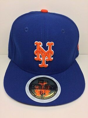 New Era 59Fifty Ny Mets Youth Fitted Mlb Cap Royal