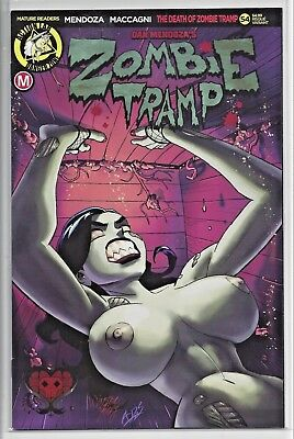 Zombie Tramp #54 Winston Young Risque Variant B Action Lab NEW HOT UNREAD!!