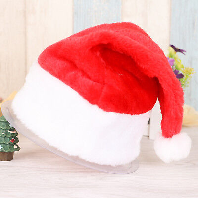 Merry Christmas Hat Santa Claus Xmas Holiday Cap for Adult Kids Child Boys Girls