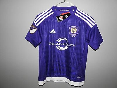 aeb09a163 MLS ORLANDO CITY SC Adidas Soccer Jersey New Youth Sizes - $23.99 ...