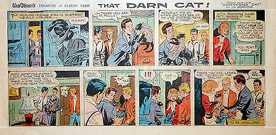 Walt Disney Treasury - That Darn Cat! - color Sunday comic page - Dec. 19, 1965
