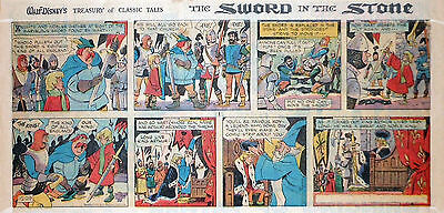 Walt Disney Treasury - Sword in the Stone - Sunday comic page, December 29, 1963