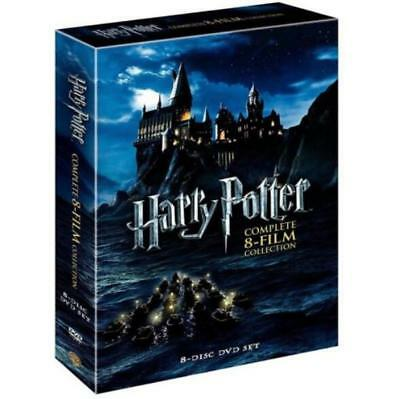 Harry Potter Complete 8-Film Collection DVD 2011 8-Disc Set New & Sealed