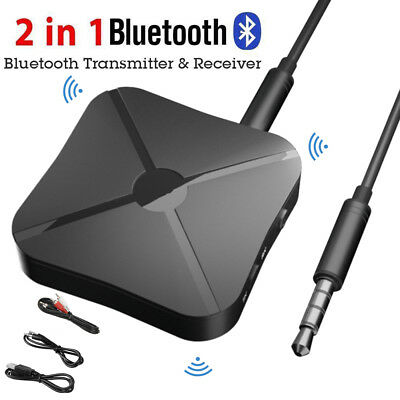 2 in 1 Wireless Bluetooth 4.2 Audio Transmitter Receiver 3.5mm Music Adapter