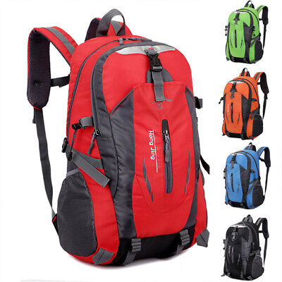 Waterproof Outdoor Sport Hiking Camping Travel Backpack Daypack Rucksack Bag CHJ