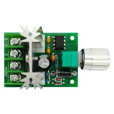 Speed Regulator Switch With Speed Control For DC Motor DC6V-12V 6-10A Speed!