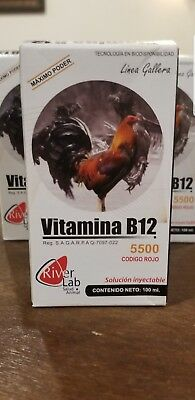 Vitamina B12 5500 (Codigo Rojo) 100ml by River Lab