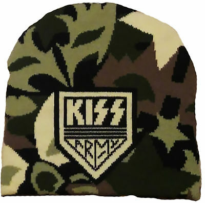 KISS Kiss Army BEANIE MÜTZE KNITTED SKI HAT OFFICIAL MERCHANDISE