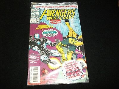 Avengers West Coas # (Annual)<>Sealed<>Marvel Comics ~ 1993 -With Card